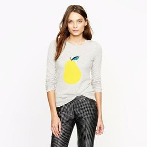 J. Crew Pear Sweater